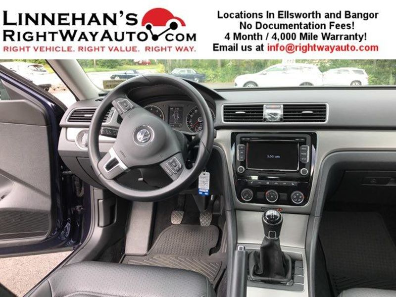 2014 Volkswagen Passat SE  in Bangor, ME