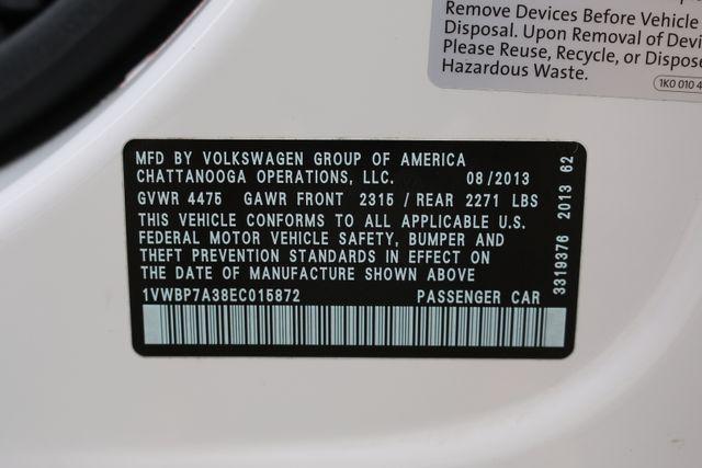 2014 Volkswagen Passat SE w/Snrf/Nav Mooresville, North Carolina 86