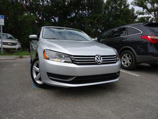 2014 Volkswagen Passat SE. LEATHER. BACK UP CAMERA. HTD SEATS SEFFNER, Florida 7