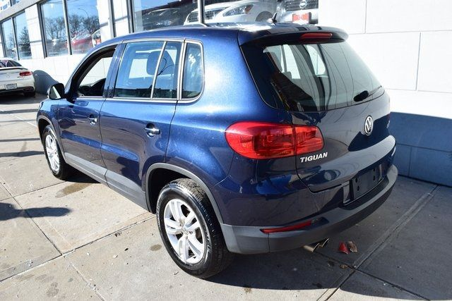 2014 Volkswagen Tiguan S Richmond Hill, New York 7