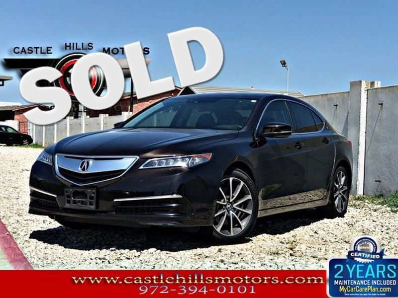 2015 Acura TLX V6 Tech | Lewisville, Texas | Castle Hills Motors in Lewisville Texas