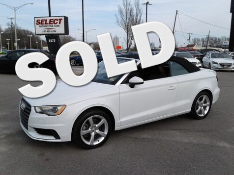 2015 Audi A3 Cabriolet 1.8T Premium in Virginia Beach, Virginia