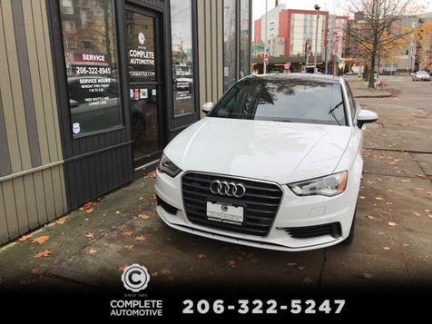 2015 Audi A3 Sedan 2.0T Quattro All Wheel Drive Premium Plus Navigation Rear Camera Bang & Olufsen $43,125 New in Seattle