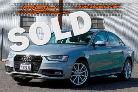 2015 Audi A4 Premium - Navigation - Highway mileage in Los Angeles