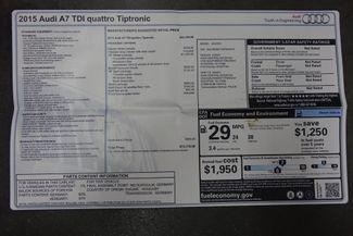 2015 Audi A7 TDI * Premium Plus * 1-OWNER * 20s * BOSE * Sport Plano, Texas 48