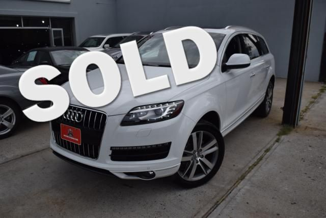 2015 Audi Q7 3.0T Premium Plus Richmond Hill, New York 0