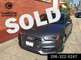 2015 Audi S3 2.0T Quattro 292 HP Prestige Performance  Technology Packages B&O Sound Oniy 5,900 Miles  in Seattle,