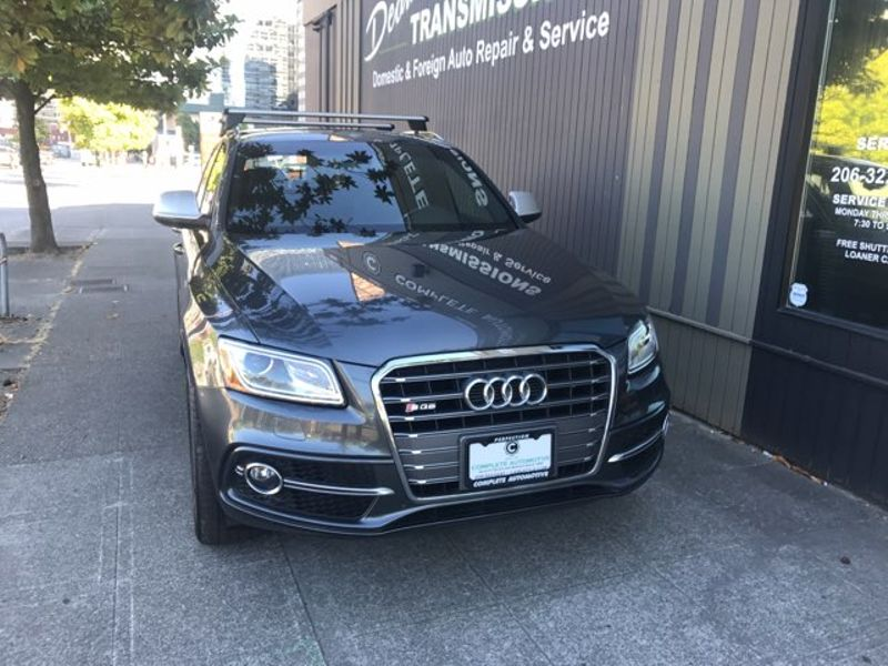 2015 Audi SQ5 30T 354 HP V6 Quattro Premium Plus Package Rear Camera Navigation Bang  Olufsen FAST    city Washington  Complete Automotive  in Seattle, Washington