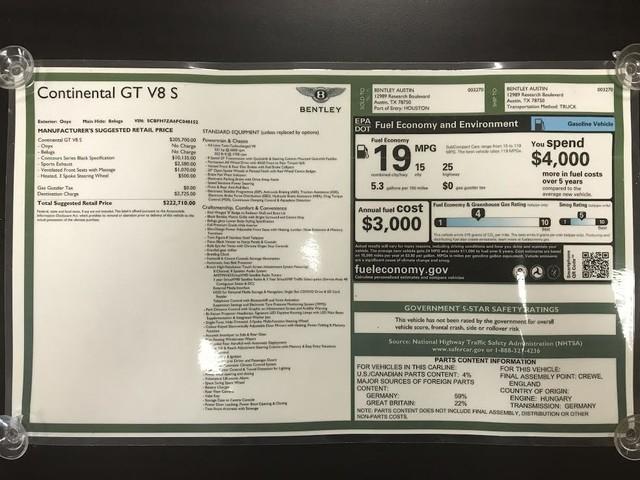 2015 Bentley Continental GT V8 S Austin , Texas 24