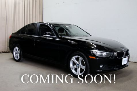 2015 BMW 328xi xDrive AWD Turbo Luxury Car w/Navigation, Heated Seats, Bluetooth Audio and Phone Interface in Eau Claire