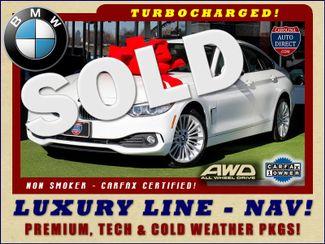 2015 BMW 428i xDrive Gran Coupe AWD - LUXURY LINE - PREMIUM, COLD & TECH PKGS! Mooresville , NC