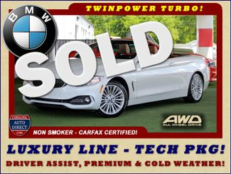 2015 BMW 428i xDrive AWD LUXURY LINE W/ TECH, PREMIUM & WEATHER PKGS! Mooresville , NC