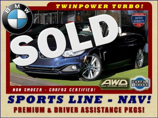2015 BMW 435i xDrive  AWD - SPORTS LINE - PREMIUM PKG - NAV! Mooresville , NC