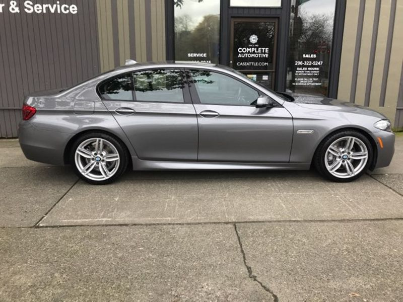 2015 BMW 535i M Sport Driver Assist Plus  Premium Cold Weather Pkgs New 70910 Save 41922  city Washington  Complete Automotive  in Seattle, Washington