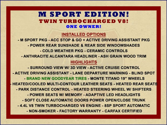 2015 BMW 750Li xDrive AWD - M SPORT EDITION - BRAND NEW TIRES! Mooresville , NC 1