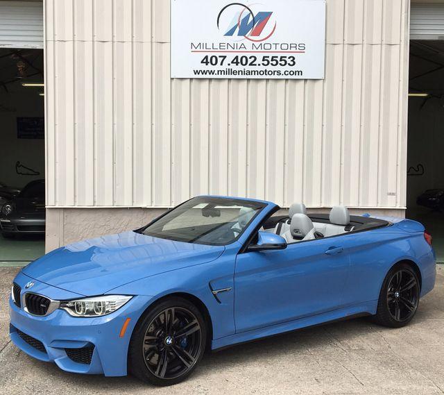 2015 BMW M Models M4 CONVERTIBLE Longwood, FL 45