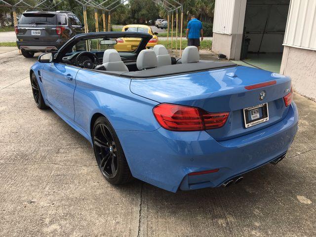 2015 BMW M Models M4 CONVERTIBLE Longwood, FL 47