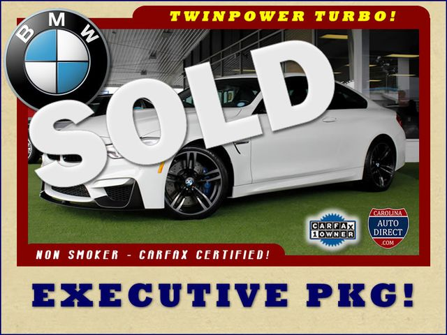 2015 BMW M Models M4 RWD - EXECUTIVE PKG! Mooresville , NC 0
