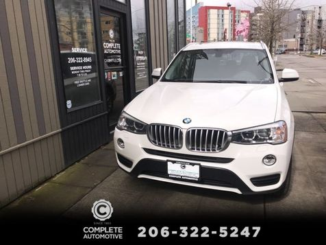 2015 BMW X3 xDrive28i All Wheel Drive Technology Driving  Assistance Premium Packages MSRP Was $50,600 in Seattle