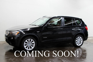 2015 BMW X3 xDrive28i AWD Crossover SUV w/Premium Pkg, Panoramic Roof & Bluetooth Streaming Audio in Eau Claire