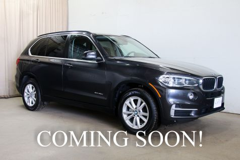 2015 BMW X5 xDrive35d AWD Diesel w/Driver Assistance Plus Pkg, Heated & Cooled Seats & Gets 30+ MPG in Eau Claire