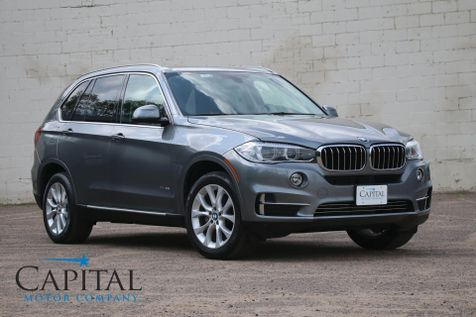 2015 BMW X5 xDrive35i AWD with 3rd Row Seating, Navigation, Heated Front/Rear Seats & Head Up Display in Eau Claire