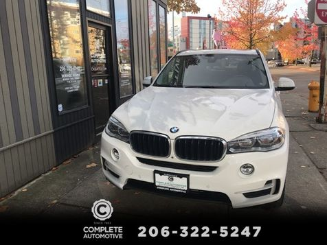2015 BMW X5 xDrive35i All Wheel Drive 1 Owner Navigation Heated Seat Rear Side Top View Cameras Blind Spot  in Seattle
