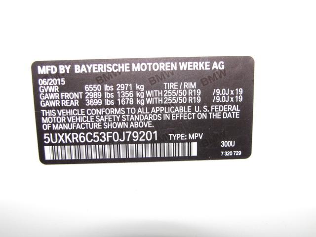 2015 BMW X5 xDrive50i M SPORT Jacksonville , FL 22