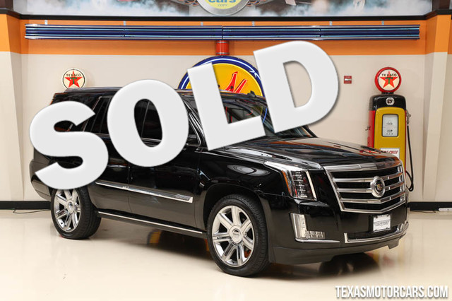 2015 Cadillac Escalade Premium This Carfax 1-Owner 2015 Cadillac Escalade Premium is in excellent