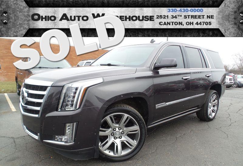 2015 Cadillac Escalade Premium 4x4 Navi Tv/DVD Sunroof 3rd Row We Finance | Canton, Ohio | Ohio Auto Warehouse LLC in Canton Ohio