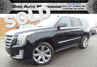 2015 Cadillac Escalade 4x4 Navi DVD Sunroof 3rd Row Cln Carfax We Finance   Canton, Ohio   Ohio Auto Warehouse LLC in  Ohio