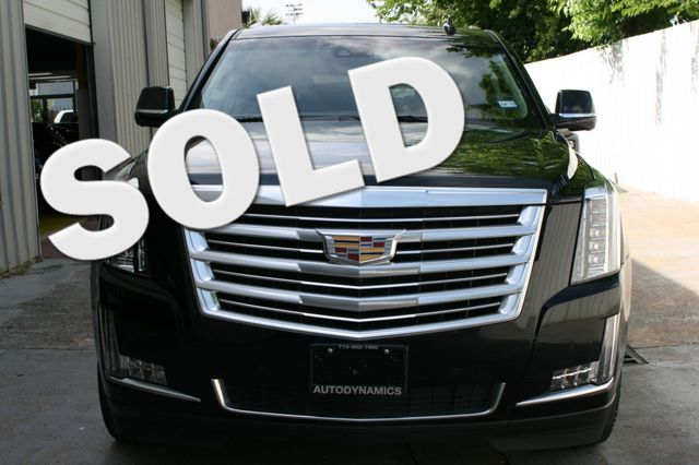 2015 Cadillac Escalade ESV Platinum Houston, Texas 0
