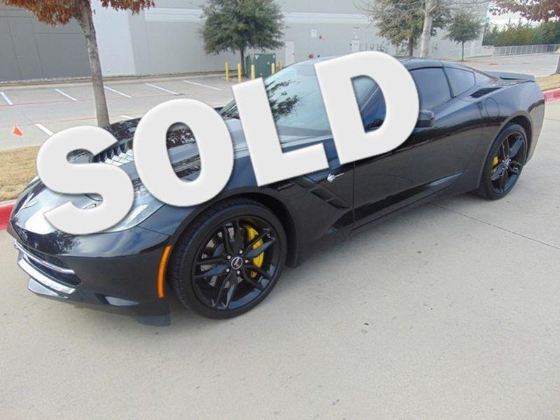 2015 Chevrolet Corvette Z51 3LT 8368 MILES ONE OWNER AUTO | Grapevine, TX | Corvette Center Dallas in Grapevine TX