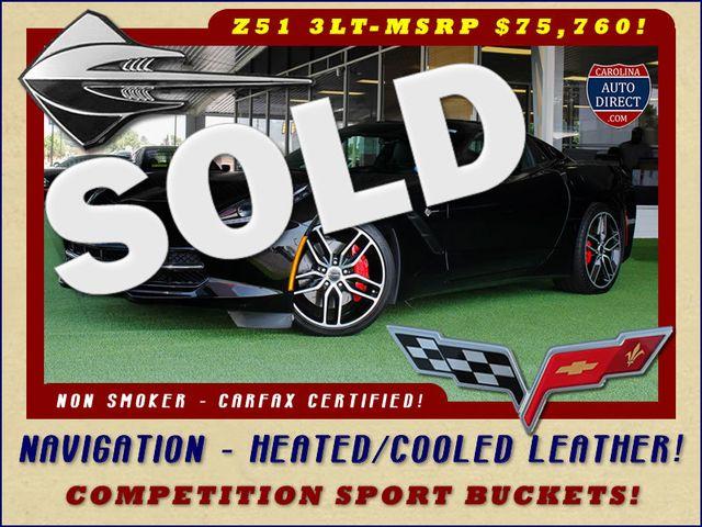 2015 Chevrolet Corvette Z51 3LT - COMPETITION SPORT BUCKETS! Mooresville , NC 0