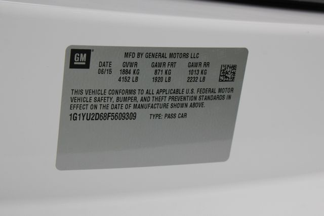 2015 Chevrolet Corvette Z06 3LZ - UPGRADED WHEELS - TRANSPARENT TOP! Mooresville , NC 52