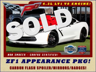 2015 Chevrolet Corvette LT - ZF1 APPEARANCE & CARBON FLASH PKGS! Mooresville , NC