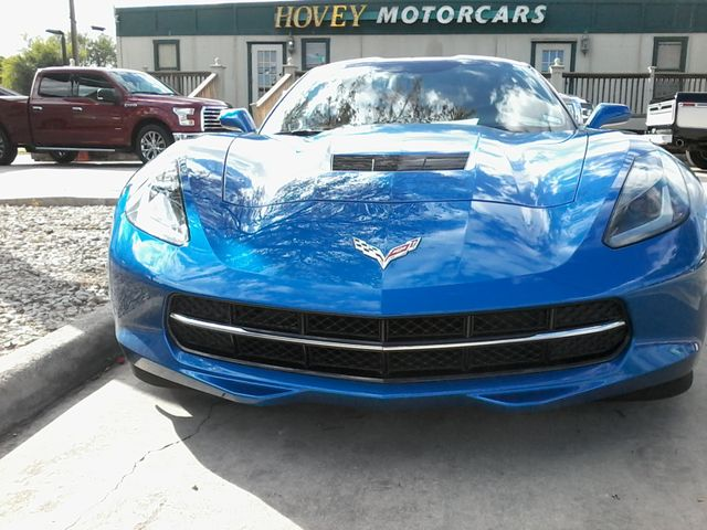 2015 Chevrolet Corvette 2LT Laguna Blue San Antonio, Texas 1