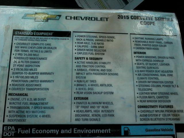 2015 Chevrolet Corvette 2LT Laguna Blue San Antonio, Texas 20