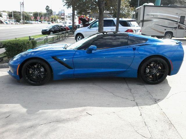 2015 Chevrolet Corvette 2LT Laguna Blue San Antonio, Texas 3