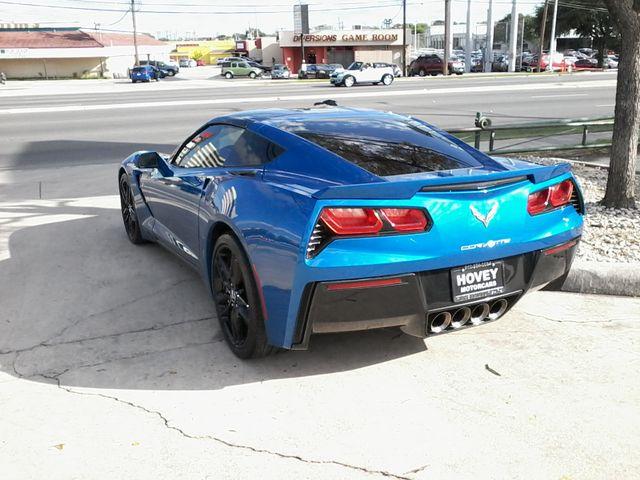 2015 Chevrolet Corvette 2LT Laguna Blue San Antonio, Texas 4