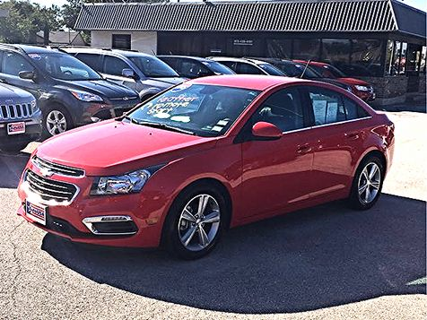 2015 Chevrolet Cruze LT Leather | Irving, Texas | Auto USA in Irving, Texas