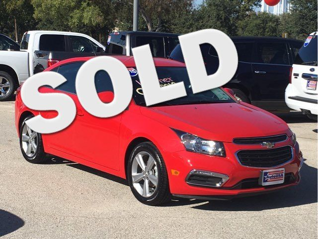 2015 Chevrolet Cruze LT Leather | Irving, Texas | Auto USA in Irving Texas