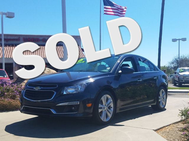 2015 Chevrolet Cruze LTZ Super clean title and history according to Carfax Save your cash when yo