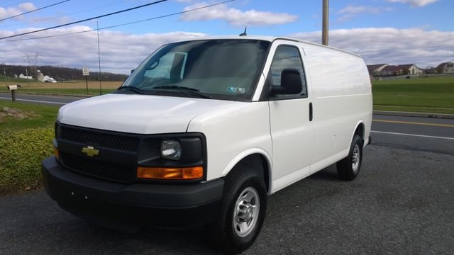 Used chevrolet express cargo van for sale in reading pa for Pine tree motors ephrata pa