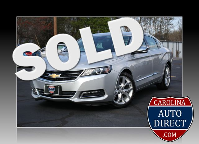 2015 Chevrolet Impala LTZ-HTD/AC SEATS-LOADED!! Mooresville , NC 0