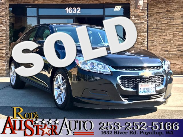 2015 Chevrolet Malibu LT This vehicle is a CarFax certified one-owner used car Pre-owned vehicles