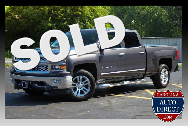 2015 Chevrolet Silverado 1500 LTZ Crew Cab 4x4 - SUNROOF - HEATED LEATHER! Mooresville , NC 0