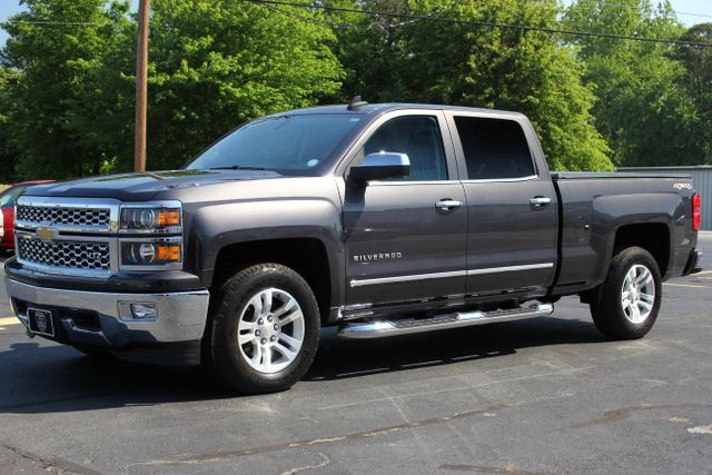 2015 Chevrolet Silverado 1500 LTZ Crew Cab 4x4 - SUNROOF - HEATED LEATHER! Mooresville , NC 2