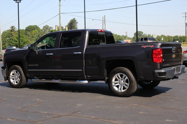 2015 Chevrolet Silverado 1500 LTZ Crew Cab 4x4 - SUNROOF - HEATED LEATHER! Mooresville , NC 4