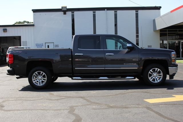 2015 Chevrolet Silverado 1500 LTZ Crew Cab 4x4 - SUNROOF - HEATED LEATHER! Mooresville , NC 8